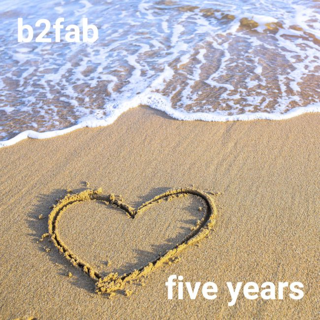 Five Years front cover