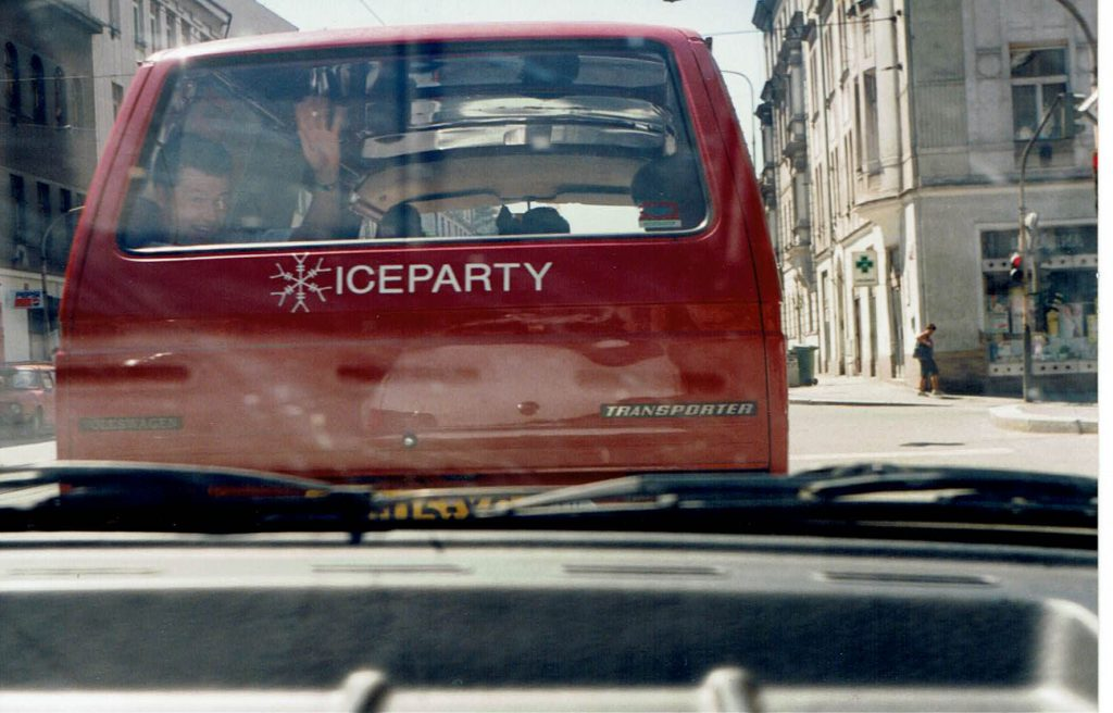 Iceparty On Tour in Prague