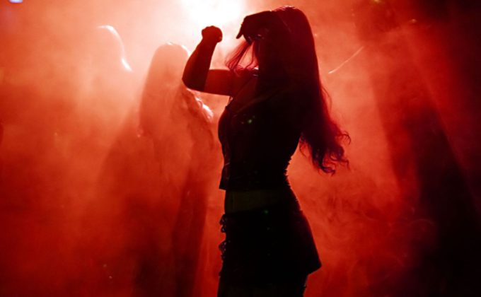 Heaven or Hell dancing