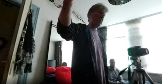 Ruud Bouman recording Goodbye