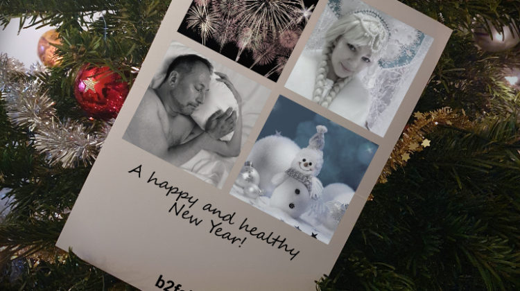 New year's card B2fab