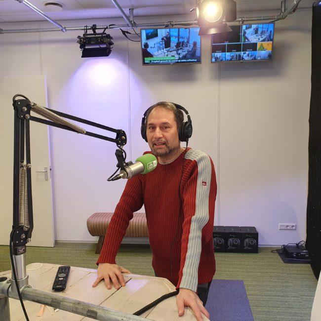 Radio interview at Unity.nu