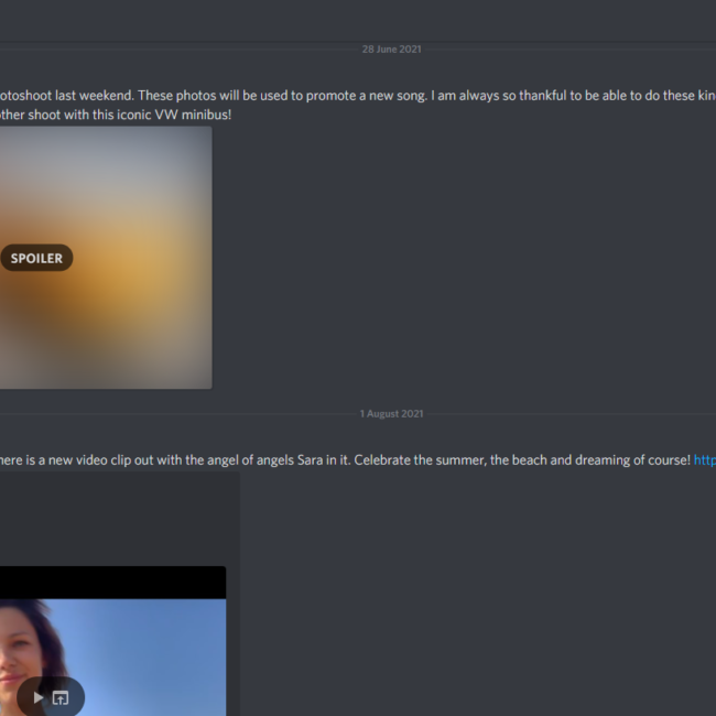 Screenshot Discord